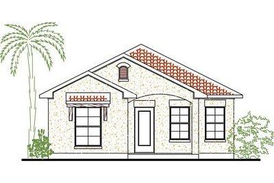 Planos de casas de dos habitaciones con 100 metros for Habitaciones 3d gratis
