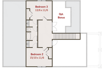 Planos de casas gratis de 2 pisos 3 habitaciones 3 ba os for Planos de banos gratis