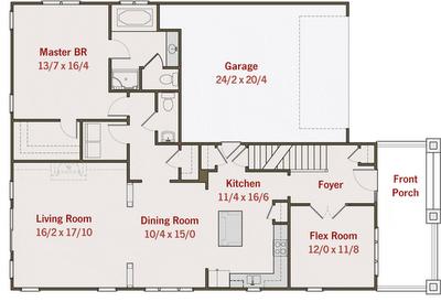 planos de casas de dos pisos 3 dormitorios 2 banos