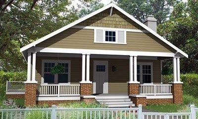 Planos Casas gratis de un Piso y tres habitaciones