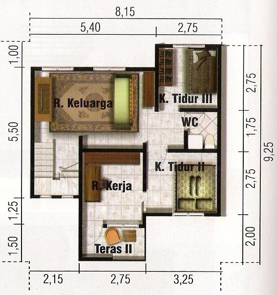 Planos de casa minimalista de 2 pisos en terreno de 100 m2 for Pisos para casas minimalistas