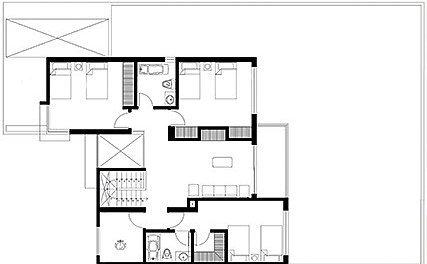 Planos de casas para 300 metros cuadrados planos de casas for Jardines 300 metros cuadrados