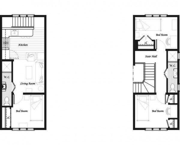 Plano de casa de 4 dormitorios y 195 metros cuadrados for Dormitorio 6 metros cuadrados