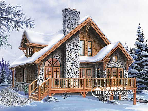 Plano de una casa de campo