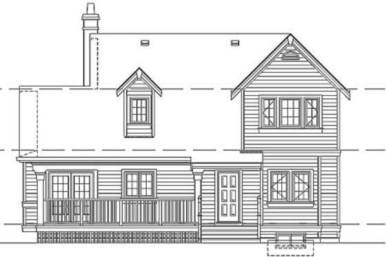 Planos de casa clásica de dos pisos, dos baños y tres dormitorios