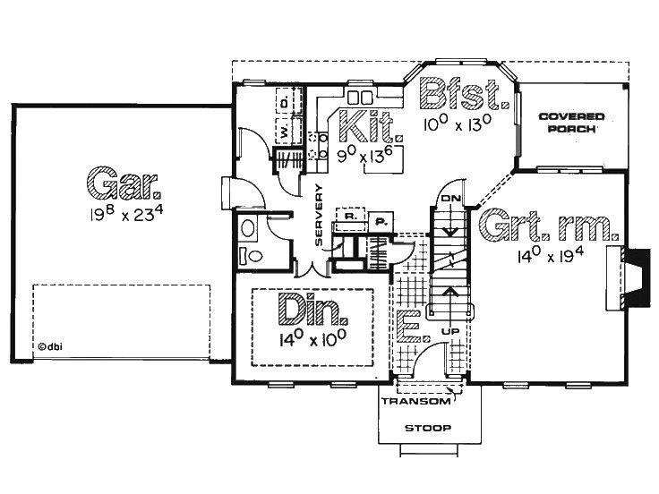 planos de casas coloniales 1