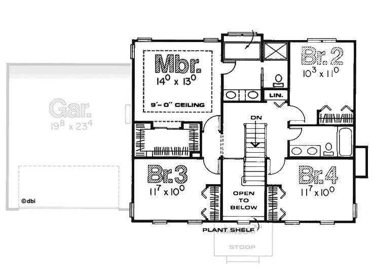 planos de casas coloniales 2