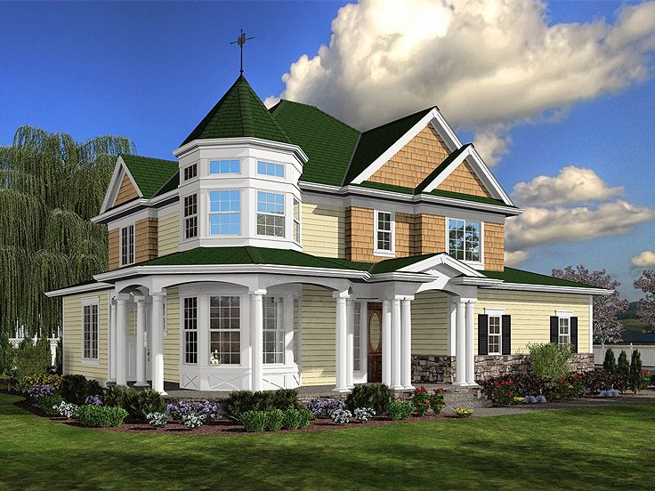 planos de una elegante casa victoriana planos de casas